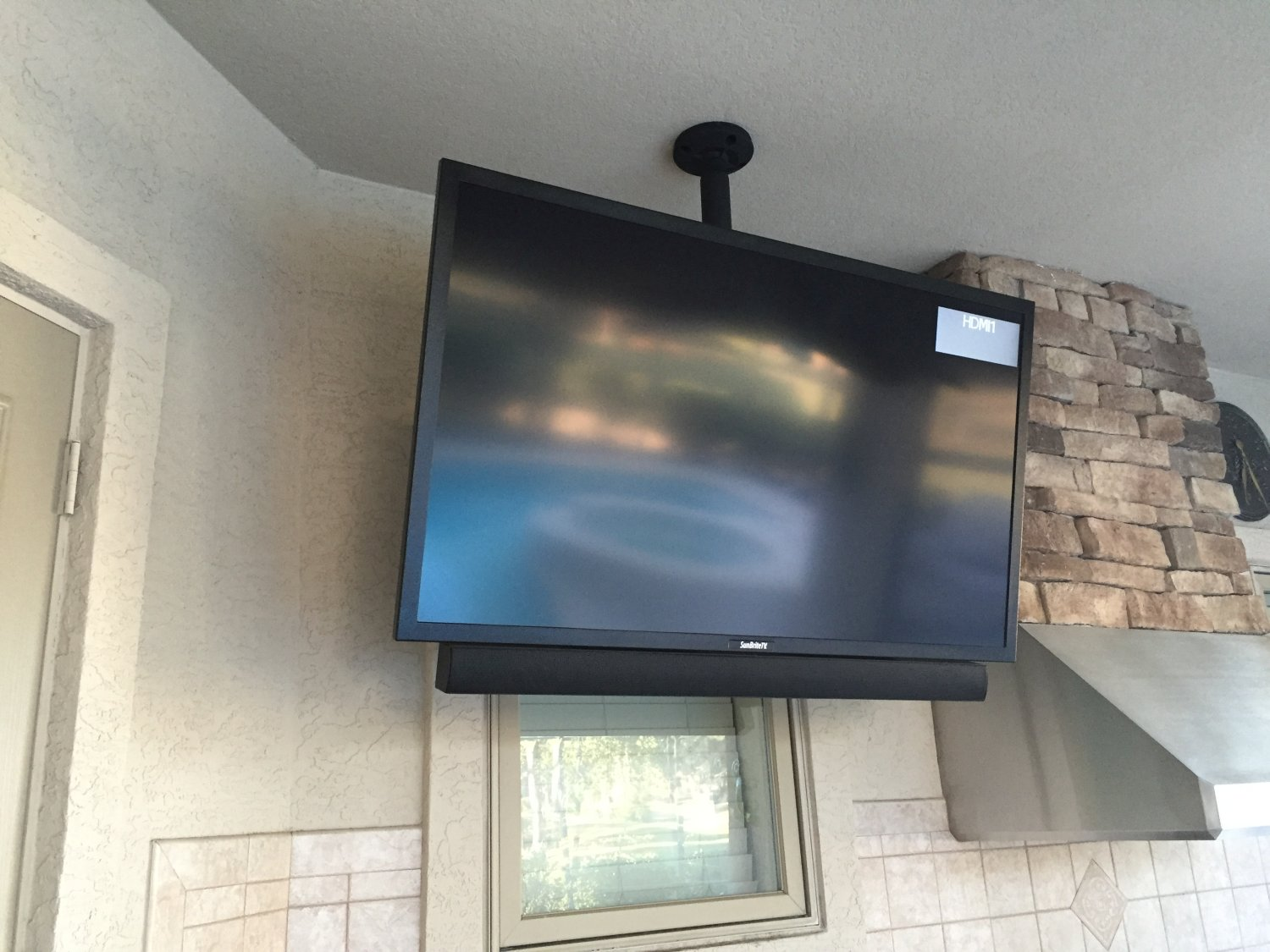Outdoor TV Install
