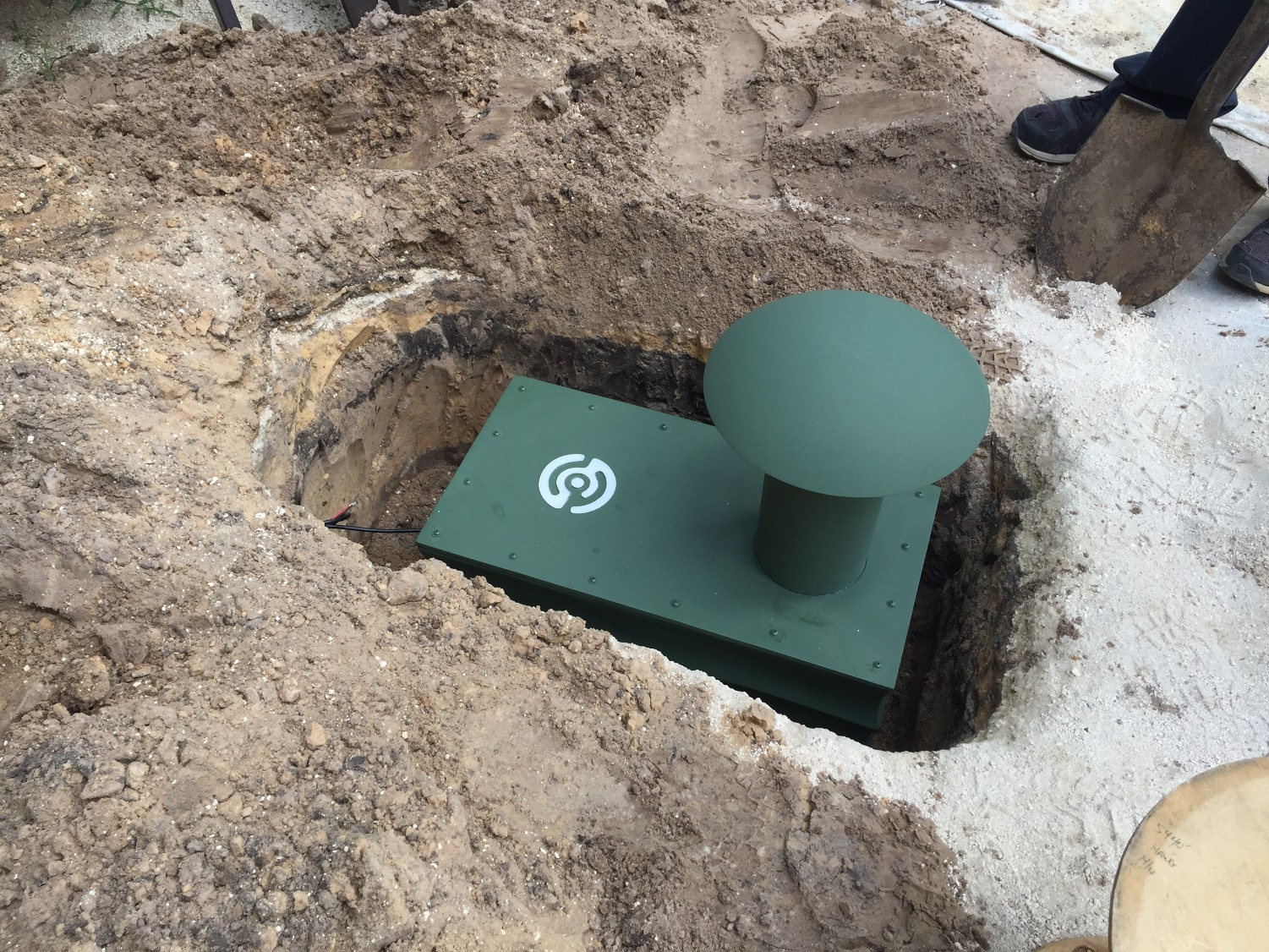 Buried Subwoofer